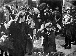 Dood spoor - jongen in Warschau