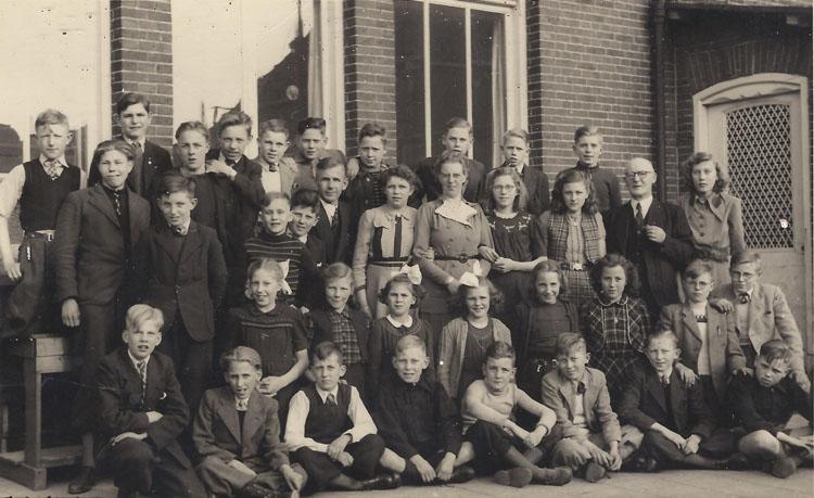 Koningin Wilhelmina School, ca. 1950