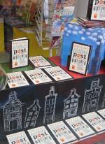 Etalage van een kinderboekwinkel in Amsterdam